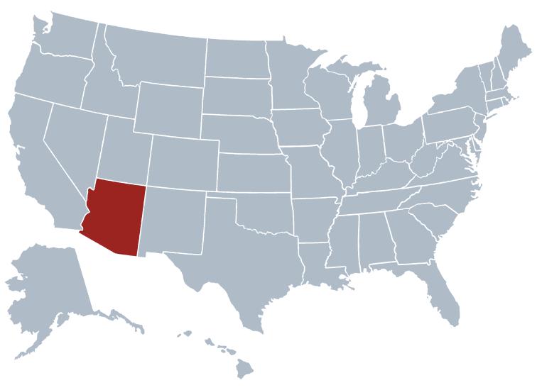 Arizona outline image