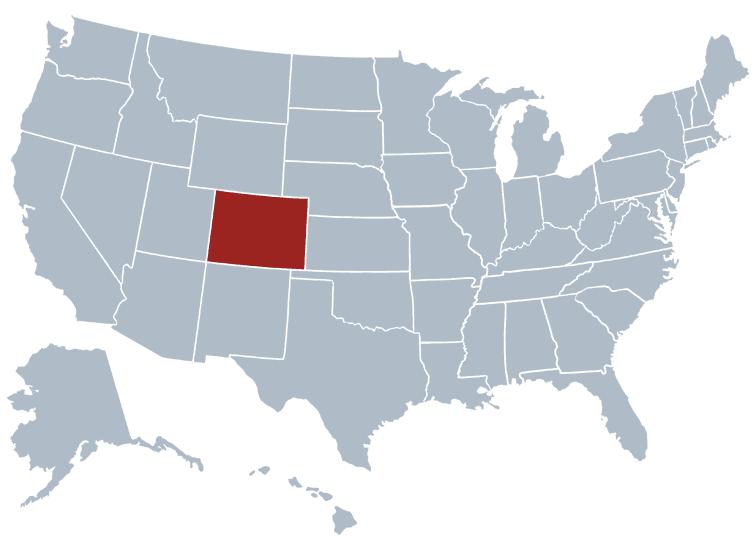 Colorado outline image