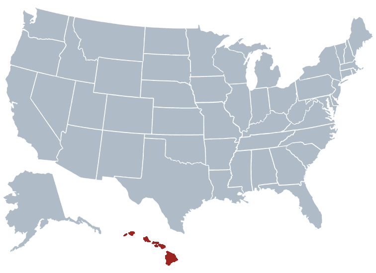Hawaii outline image