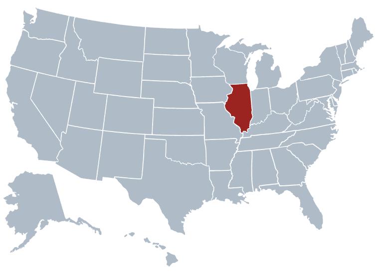Illinois outline image