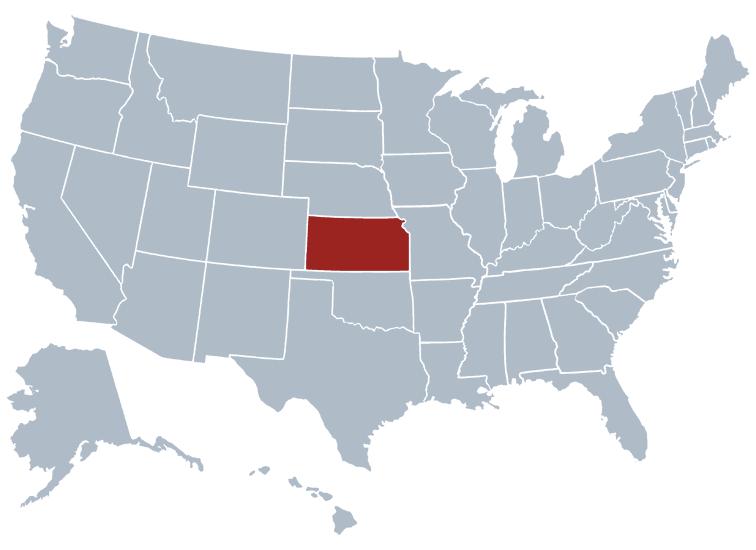 Kansas outline image