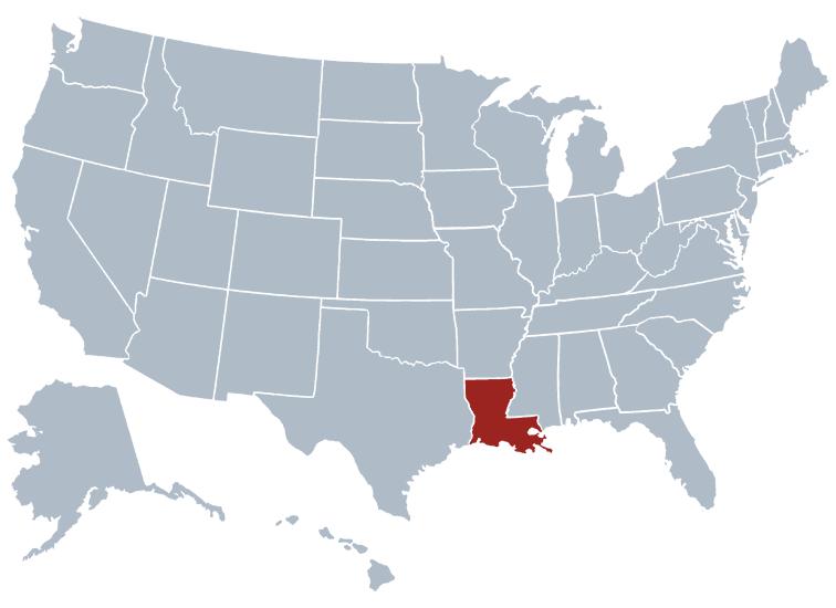 Louisiana outline image