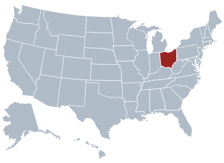 Ohio outline image