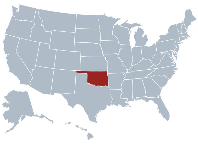 Oklahoma outline image