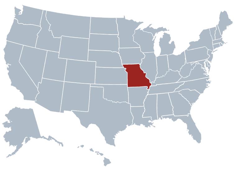 Missouri outline image