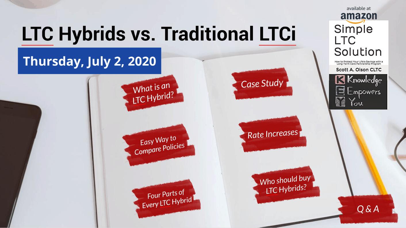 Long-term care hybrids vs traditional long-term care insurance logo image