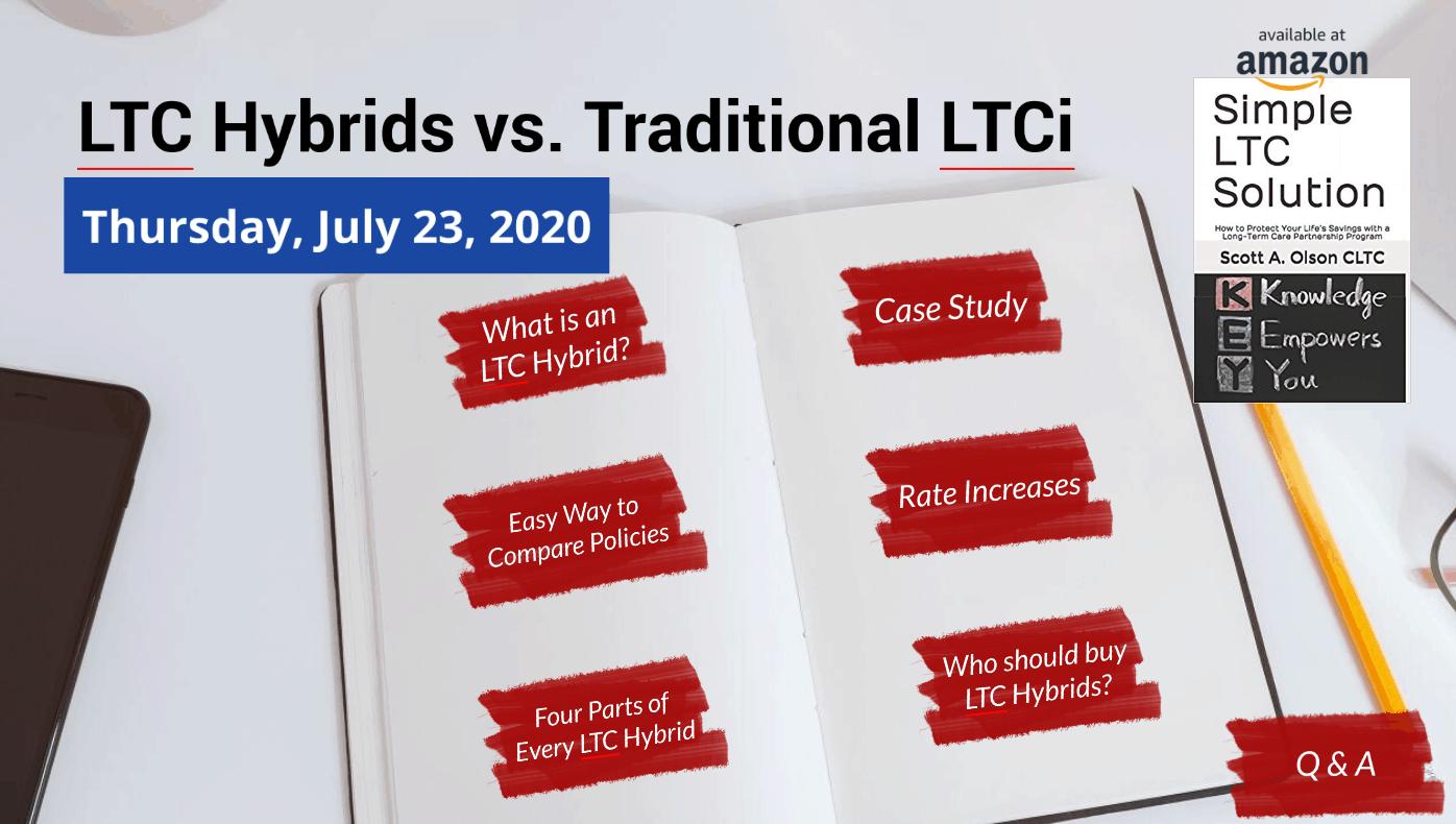 long-term care hybrids vs traditional long-term care insurance webinar image