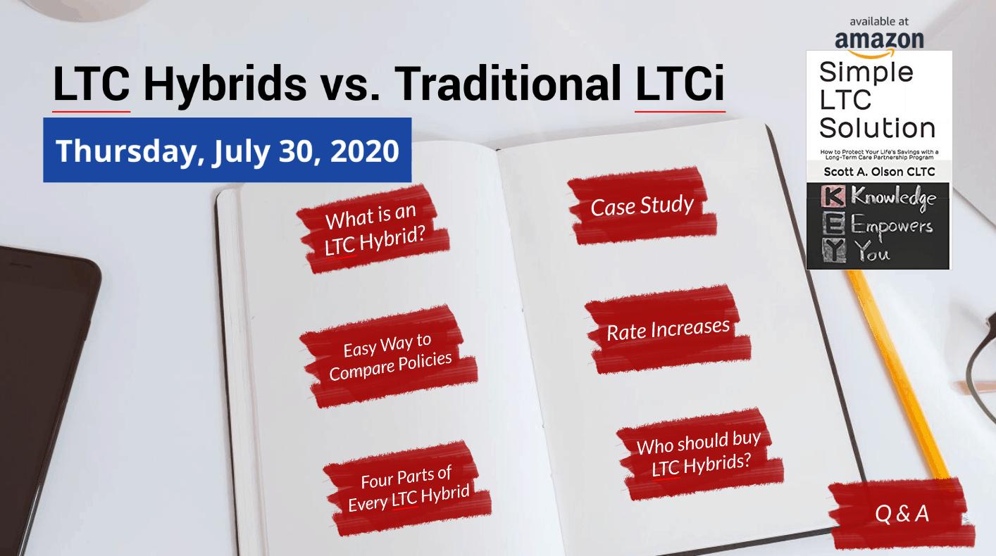 long-term care hybrids vs. traditional long-term care insurance logo image
