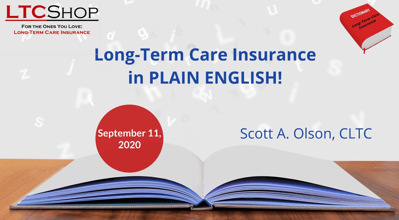 long-term care insurance in plain English logo image