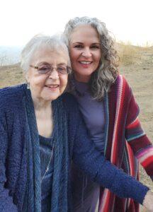 Carolyn Olson and mom photo